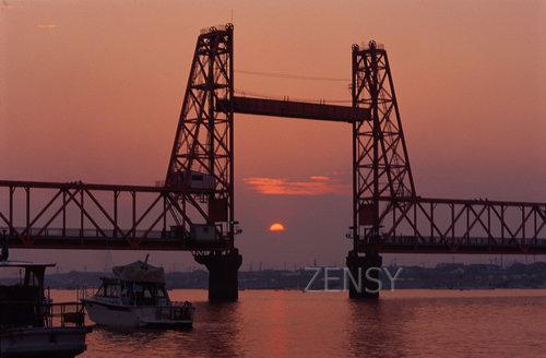 升开桥——筑后川上的美丽