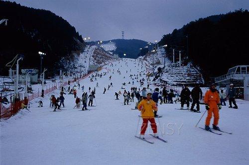 天山度假地——佐贺唯一的人工滑雪场