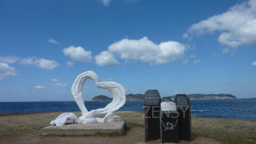 """波户岬展望塔——海中的白色""""高地"""""""