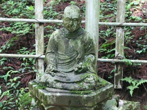 荣西纪念像(茶祖)
