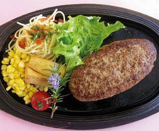 母亲农场 可品尝到佐贺产黑毛和牛汉堡排