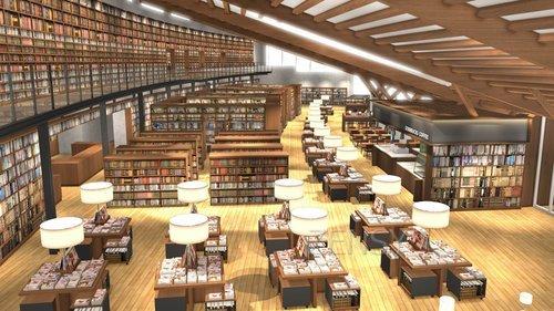 空间再创造——武雄市图书馆
