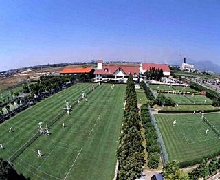 天然草坪网球场