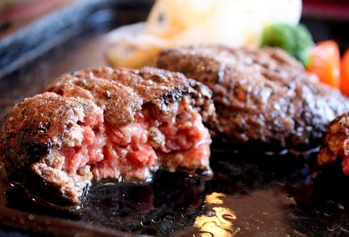 炭焼汉堡牛肉饼 牛船